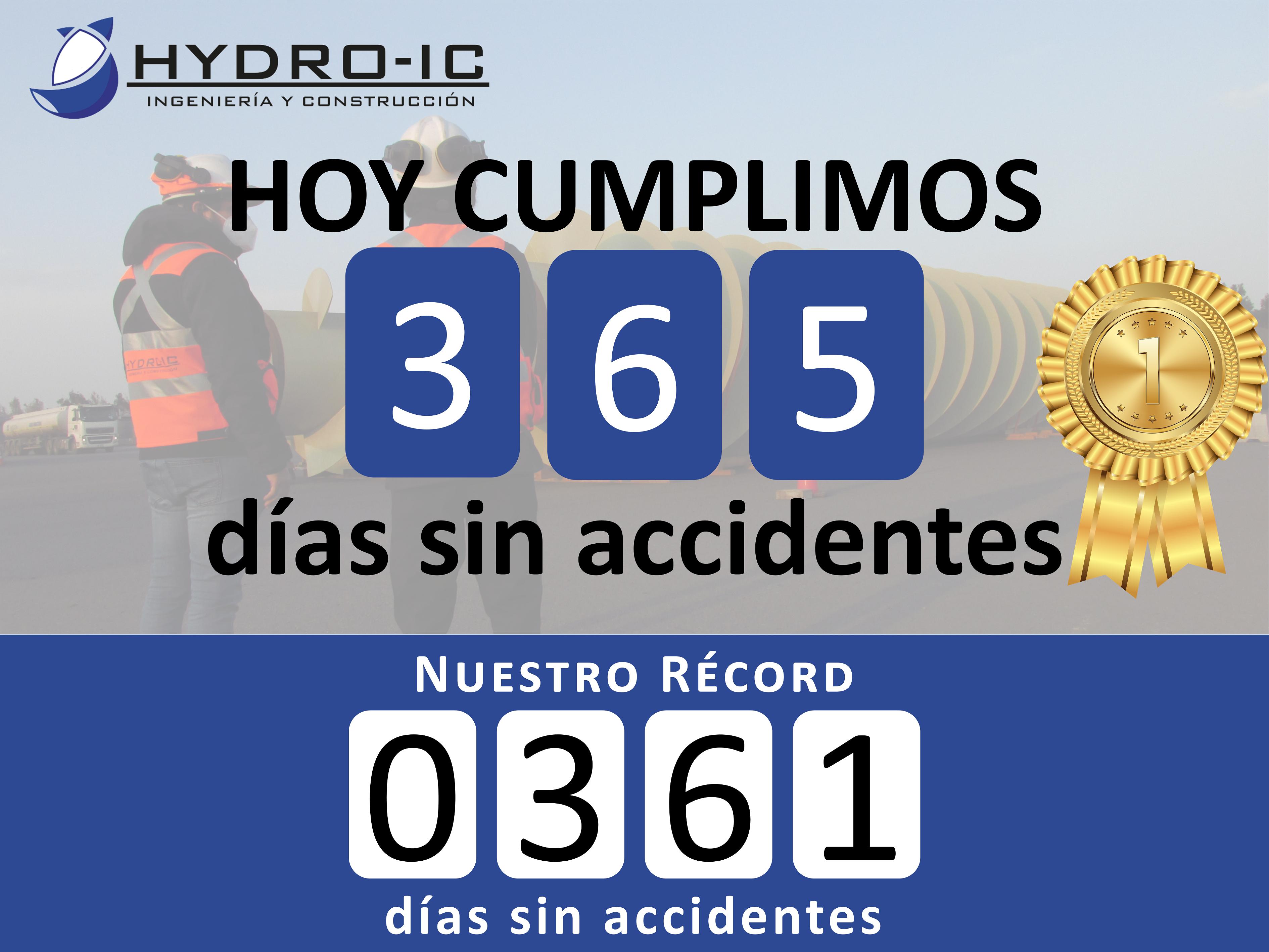 Días sin Accidentes 365-2